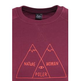 POLER Venn - Midlayer Mujer - rojo